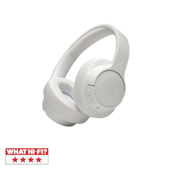 JBL TUNE 750BTNC - White - Wireless Over-Ear ANC Headphones - Hero