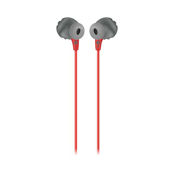JBL Endurance RUN - Red - Sweatproof Wired Sport In-Ear Headphones - Back