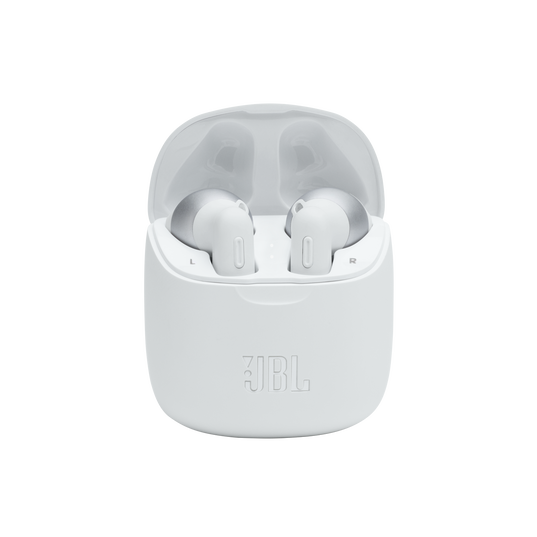 JBL Tune 225TWS - White - True wireless earbuds - Detailshot 4