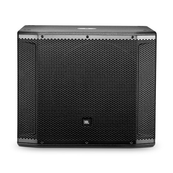 "JBL SRX818SP - Black - 18"" Self-Powered Subwoofer System - Front"
