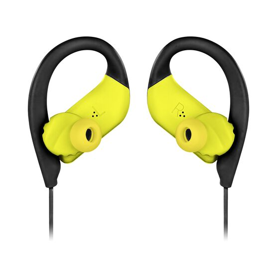 JBL Endurance SPRINT - Yellow - Waterproof Wireless In-Ear Sport Headphones - Detailshot 3