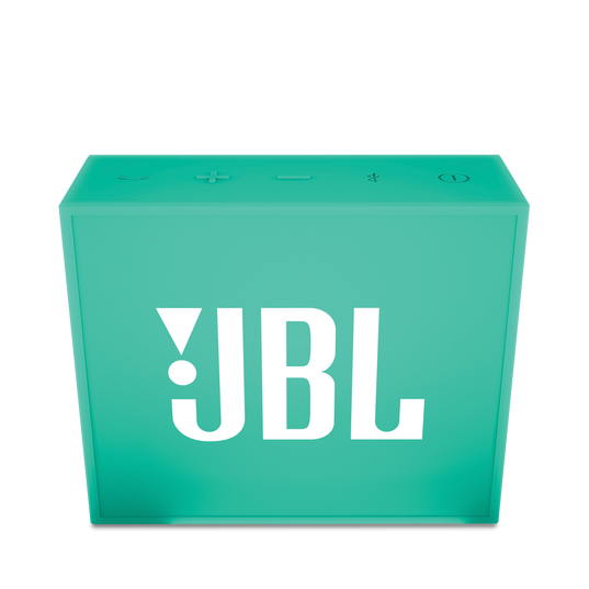 JBL GO - Teal - Full-featured, great-sounding, great-value portable speaker - Front