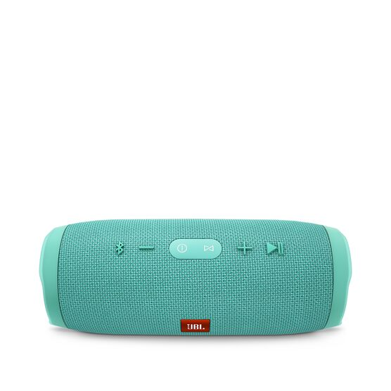 JBL Charge 3 - Teal - Full-featured waterproof portable speaker with high-capacity battery to charge your devices - Detailshot 2