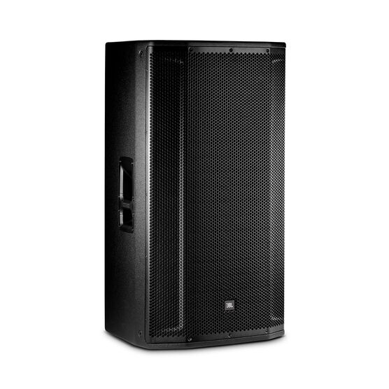 "JBL SRX835P - Black - 15"" Three-Way Bass Reflex Self-Powered System - Hero"