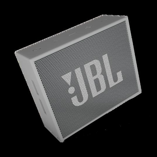 JBL GO - Grey - Full-featured, great-sounding, great-value portable speaker - Detailshot 3