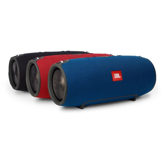 JBL Xtreme - Black - Splashproof portable speaker with ultra-powerful performance - Detailshot 5