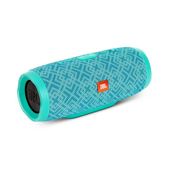 JBL Charge 3 Special Edition - Mosaic - Full-featured waterproof portable speaker with high-capacity battery to charge your devices - Hero