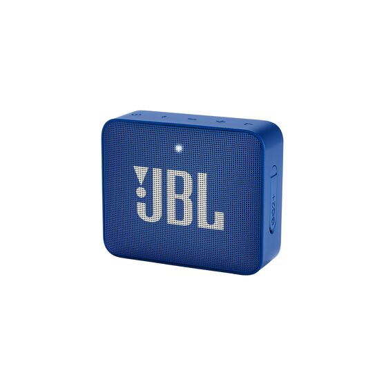 JBL GO2+ - Blue - Portable Bluetooth speaker - Hero
