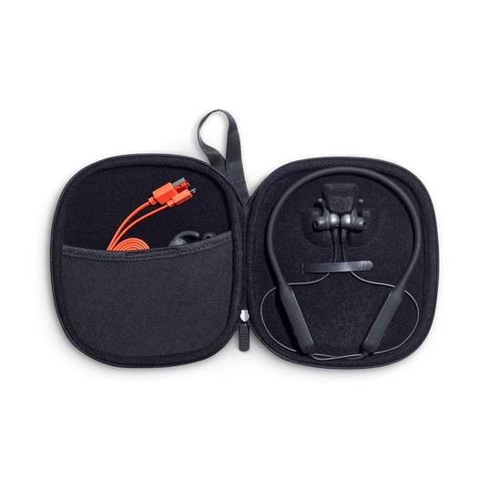 JBL EVEREST™ ELITE 150NC - Gun Metal - Wireless In-Ear NC headphones - Detailshot 2