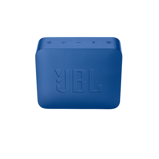 JBL GO2+ - Blue - Portable Bluetooth speaker - Back