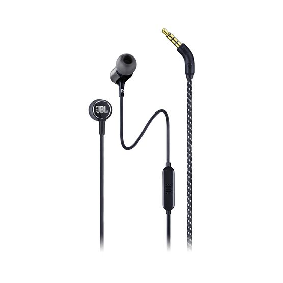 JBL LIVE 100 - Black - In-ear headphones - Hero