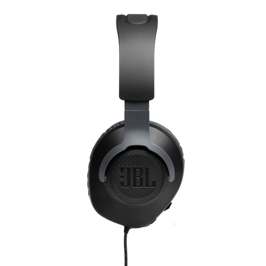 JBL Free WFH - Black - Wired over-ear headset with detachable mic - Detailshot 2