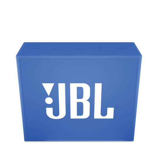 JBL GO - Blue - Full-featured, great-sounding, great-value portable speaker - Front