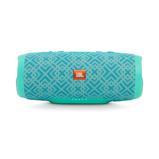 JBL Charge 3 Special Edition - Mosaic - Full-featured waterproof portable speaker with high-capacity battery to charge your devices - Detailshot 3