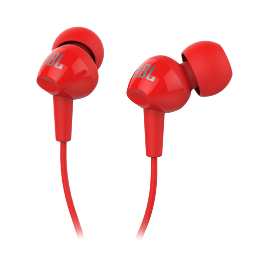C100SI - Red - In-Ear Headphones - Detailshot 2