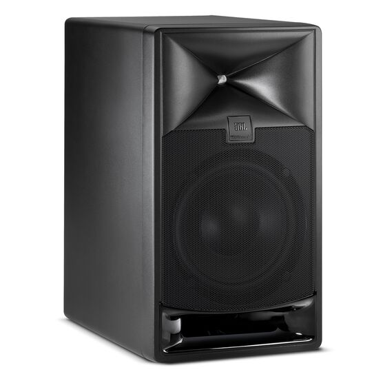 "JBL 708i - Black - 8"" Master Reference Monitor - Hero"