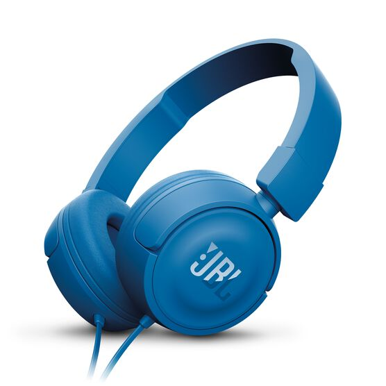 JBL T450 - Blue - On-ear headphones - Hero
