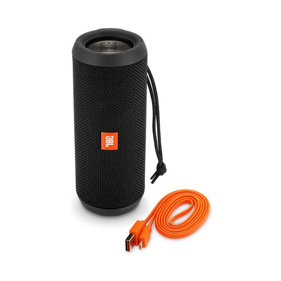 JBL Flip 3 Stealth Edition - Black - Portable Bluetooth® speaker - Detailshot 1