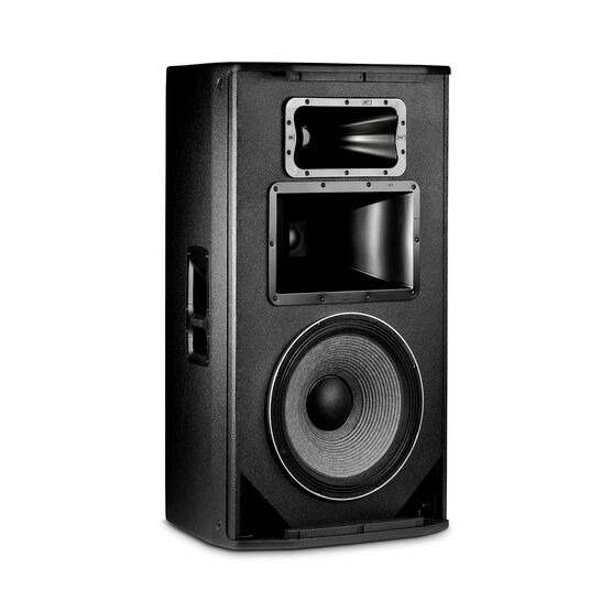 "JBL SRX835P - Black - 15"" Three-Way Bass Reflex Self-Powered System - Detailshot 1"