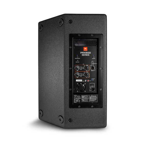 "JBL PRX812 - Black - 12"" Two-Way Full-Range Main System/Floor Monitor with Wi-Fi - Back"