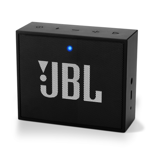 JBL GO+ - Black - Portable Bluetooth® Speaker - Hero