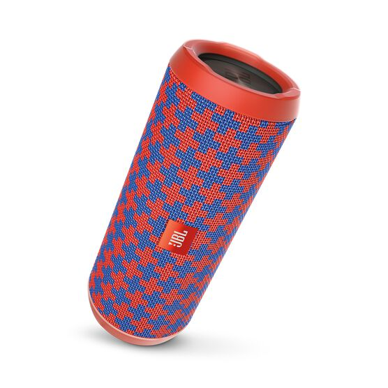 JBL Flip 3 Special Edition - Malta - Splashproof portable Bluetooth speaker with powerful sound and speakerphone technology - Hero