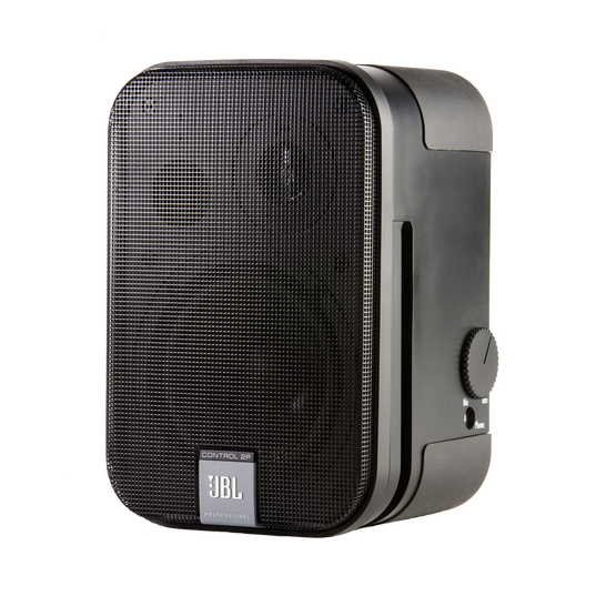 JBL Control 2PM (Host Only) - Black - Compact Powered Reference Monitor - Hero