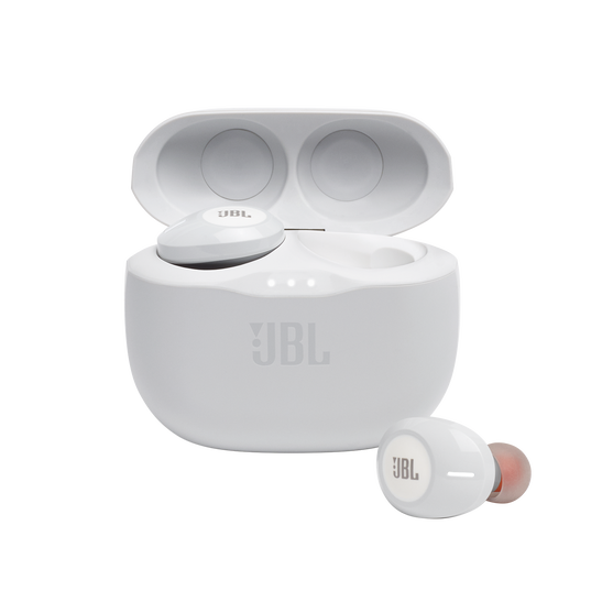JBL TUNE 125TWS - White - Truly wireless in-ear headphones. - Hero