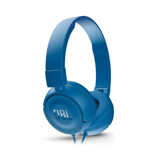 JBL T450 - Blue - On-ear headphones - Detailshot 2