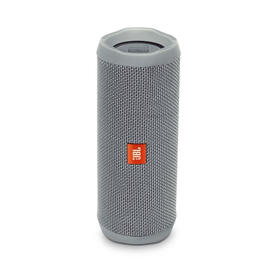 JBL Flip 4 - Grey - A full-featured waterproof portable Bluetooth speaker with surprisingly powerful sound. - Hero