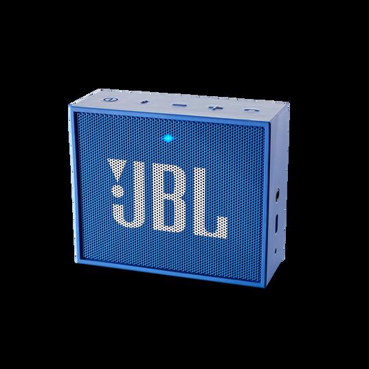 JBL GO - Blue - Full-featured, great-sounding, great-value portable speaker - Hero