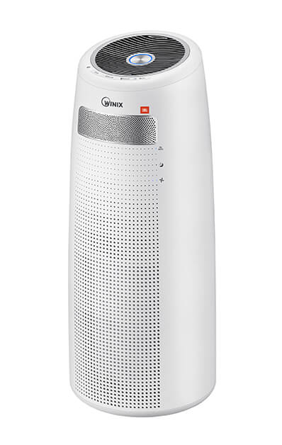The new Winix Tower Q300S air purifier with JBL Audio