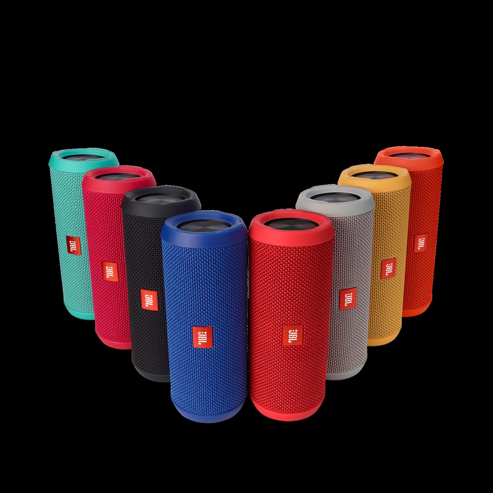 JBL Flip 3 - Black - Splashproof portable Bluetooth speaker with powerful sound and speakerphone technology - Detailshot 5