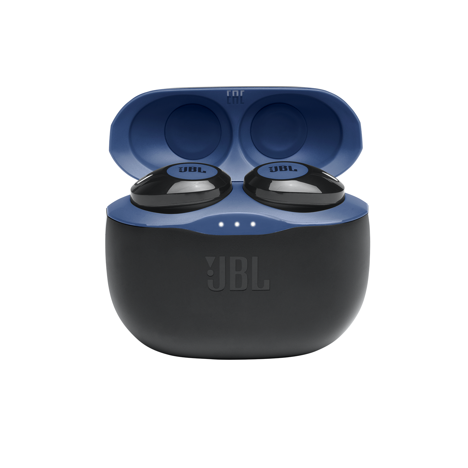 JBL TUNE 125TWS - Blue - Truly wireless in-ear headphones. - Detailshot 3