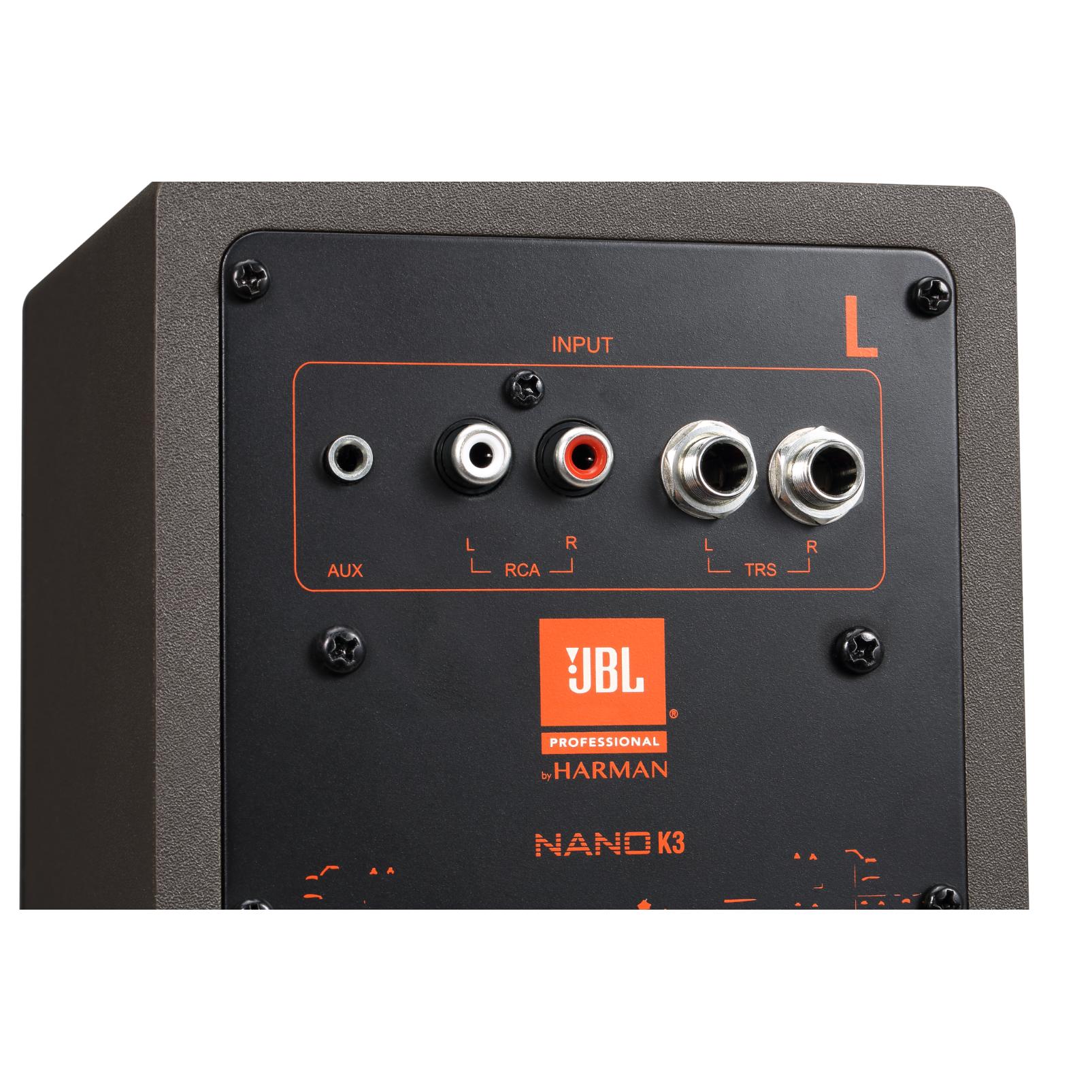 """NANO K3 - Black - 3"""" (7.62 cm) Full-range Powered Monitor Pair - Detailshot 1"""