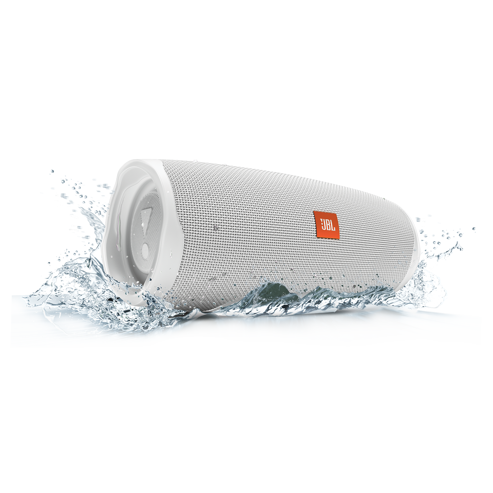 JBL Charge 4 - White - Portable Bluetooth speaker - Detailshot 5