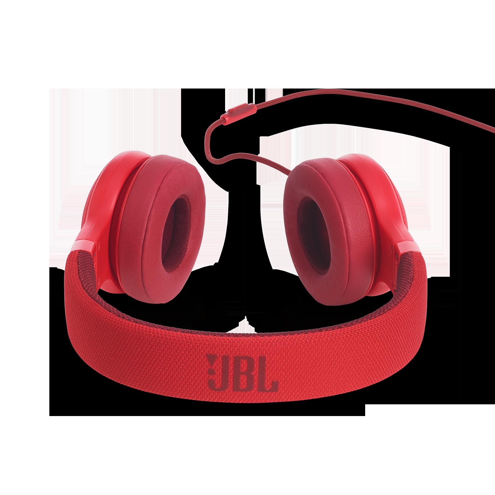 E35 - Red - On-ear headphones - Detailshot 4