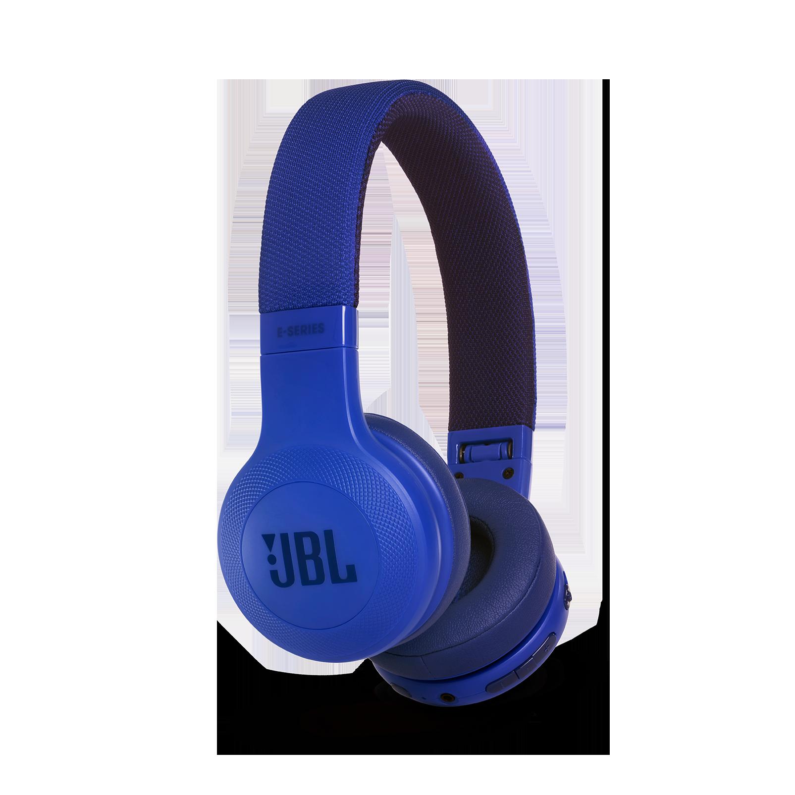 JBL E45BT - Blue - Wireless on-ear headphones - Detailshot 2