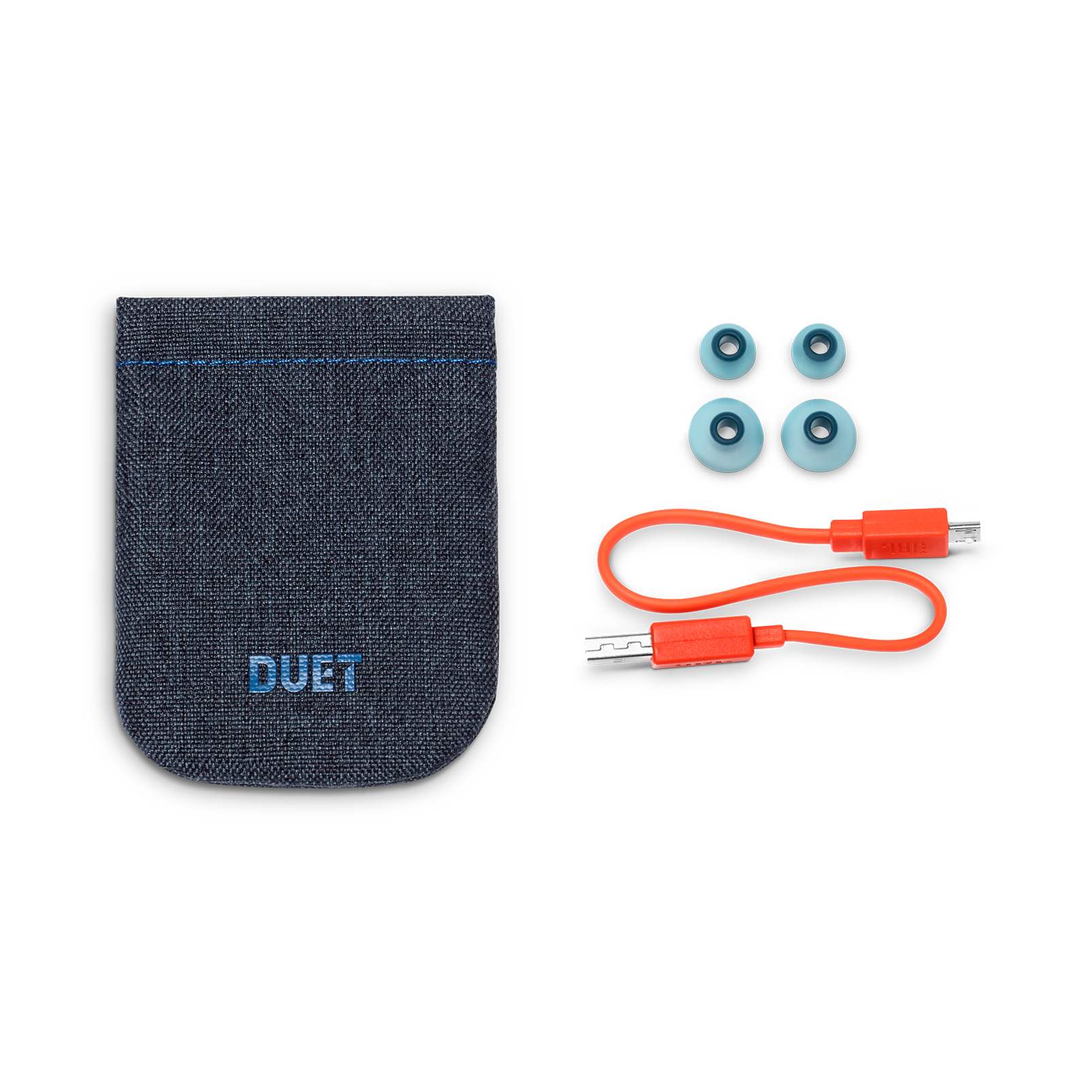 JBL DUET Mini 2 - Blue - Wireless in-ear headphones - Detailshot 4