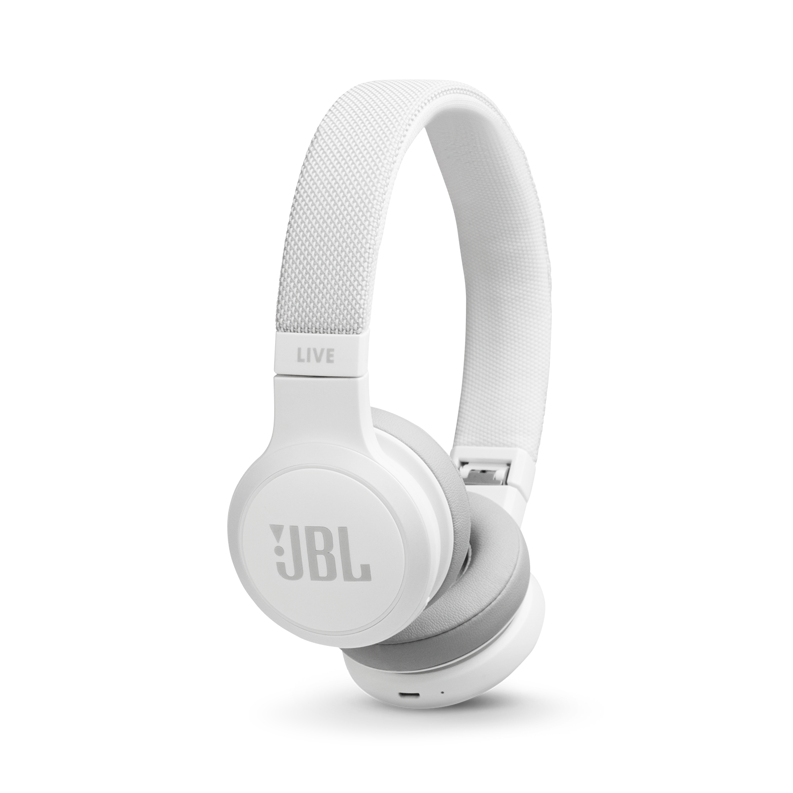 JBL LIVE 400BT - White - Your Sound, Unplugged - Hero