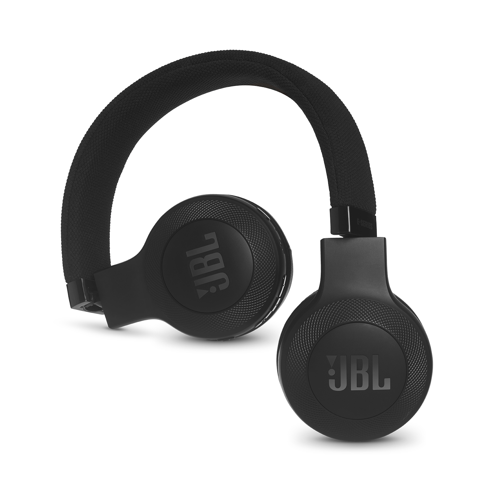 JBL E45BT - Black - Wireless on-ear headphones - Detailshot 1