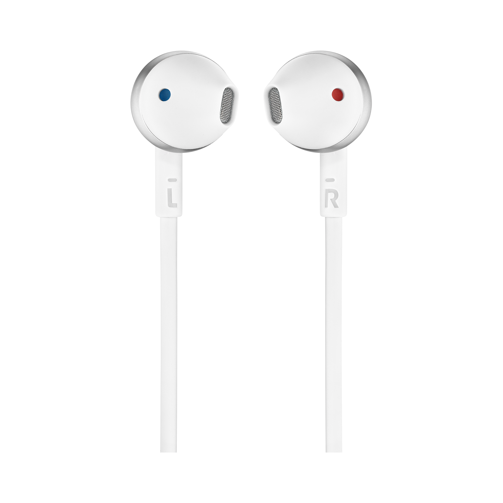 JBL TUNE 205 - Chrome - Earbud headphones - Front