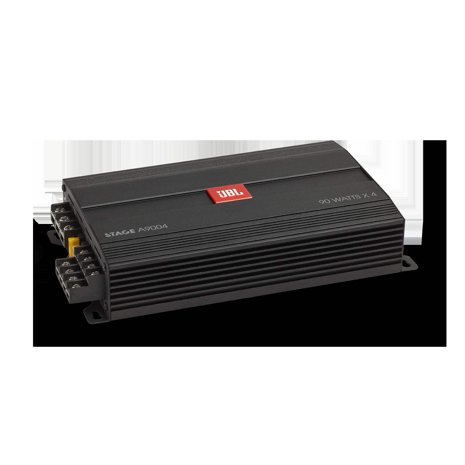 JBL Stage Amplifier A9004 - Black - Class D Car Audio Amplifier - Hero