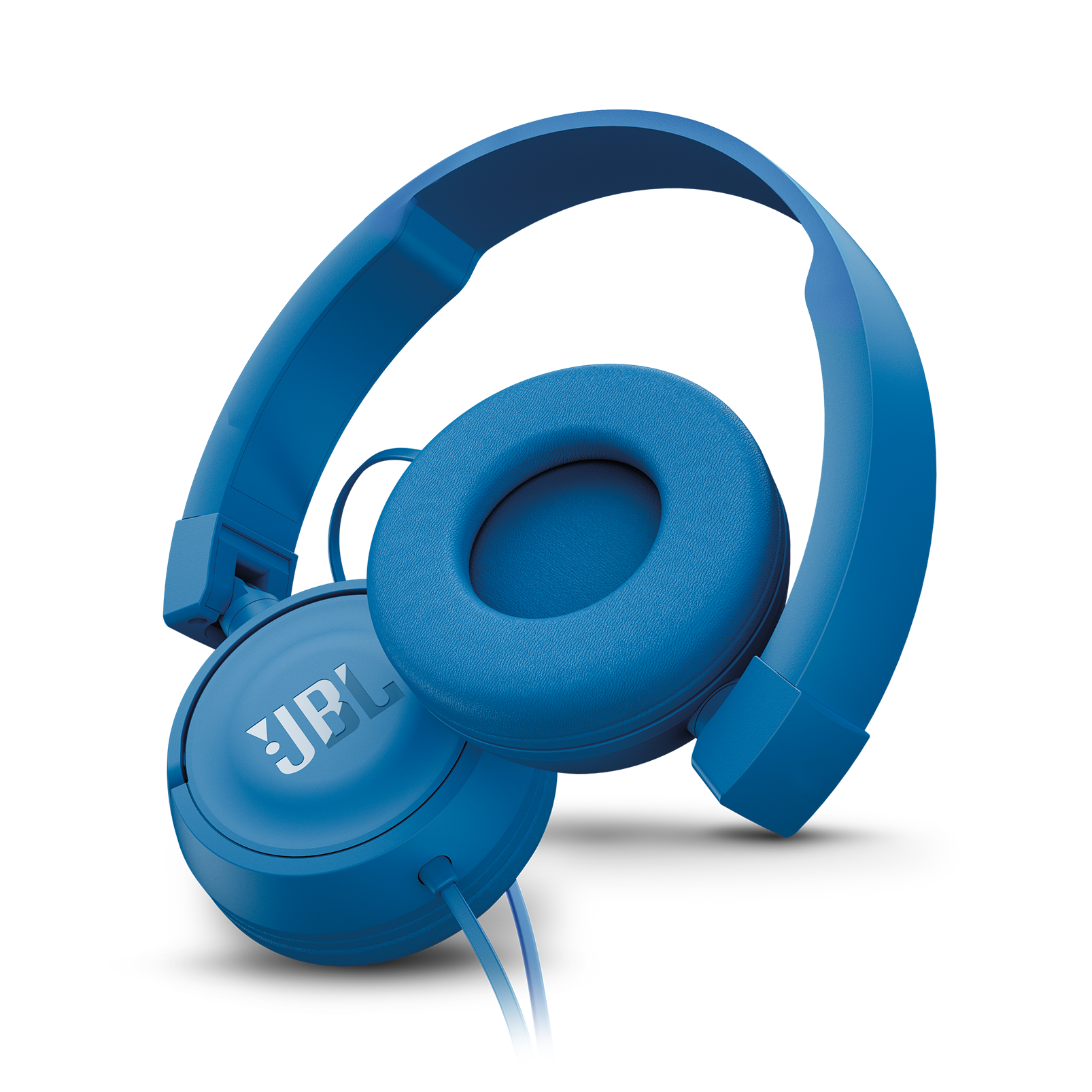 JBL T450 - Blue - On-ear headphones - Detailshot 1