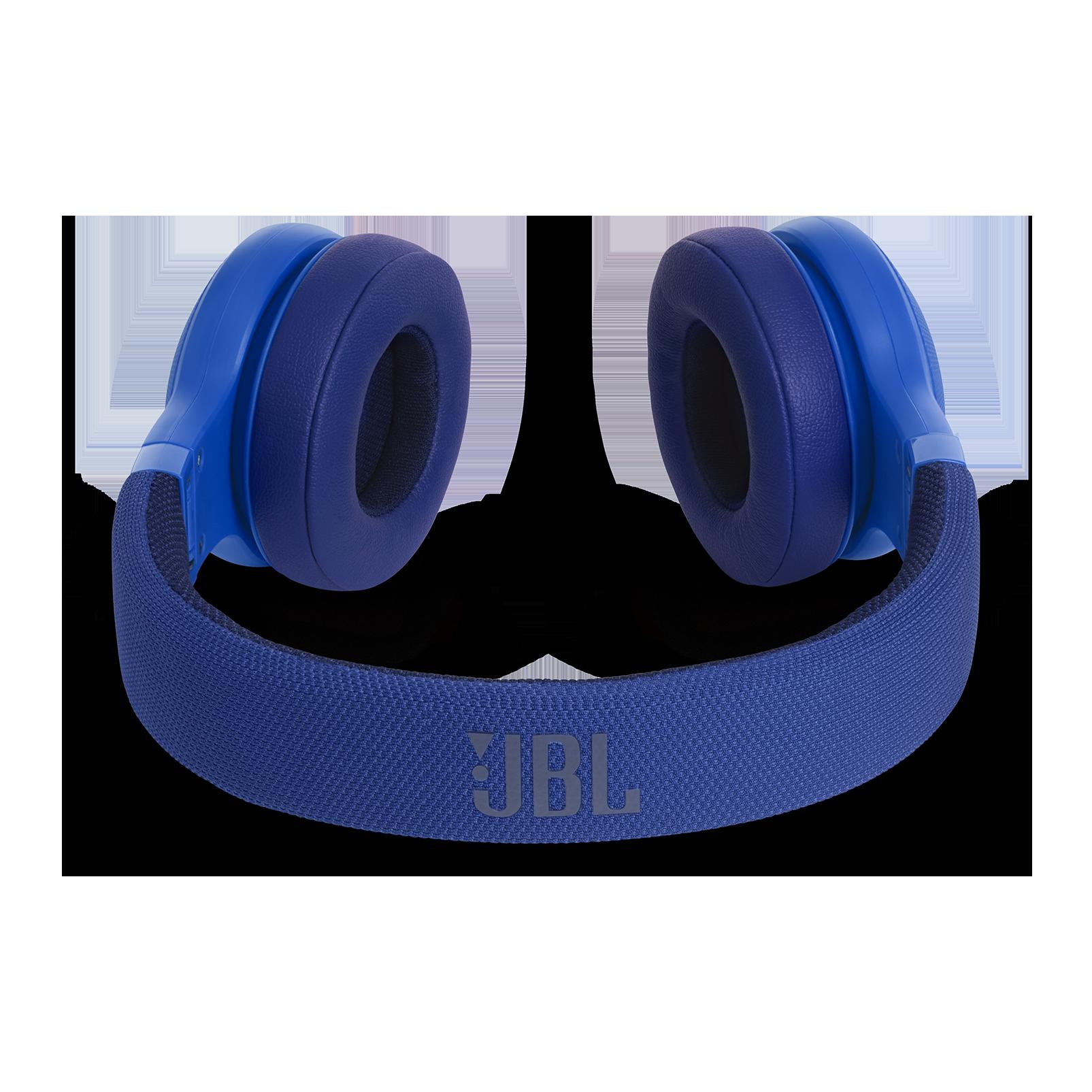 JBL E45BT - Blue - Wireless on-ear headphones - Detailshot 3