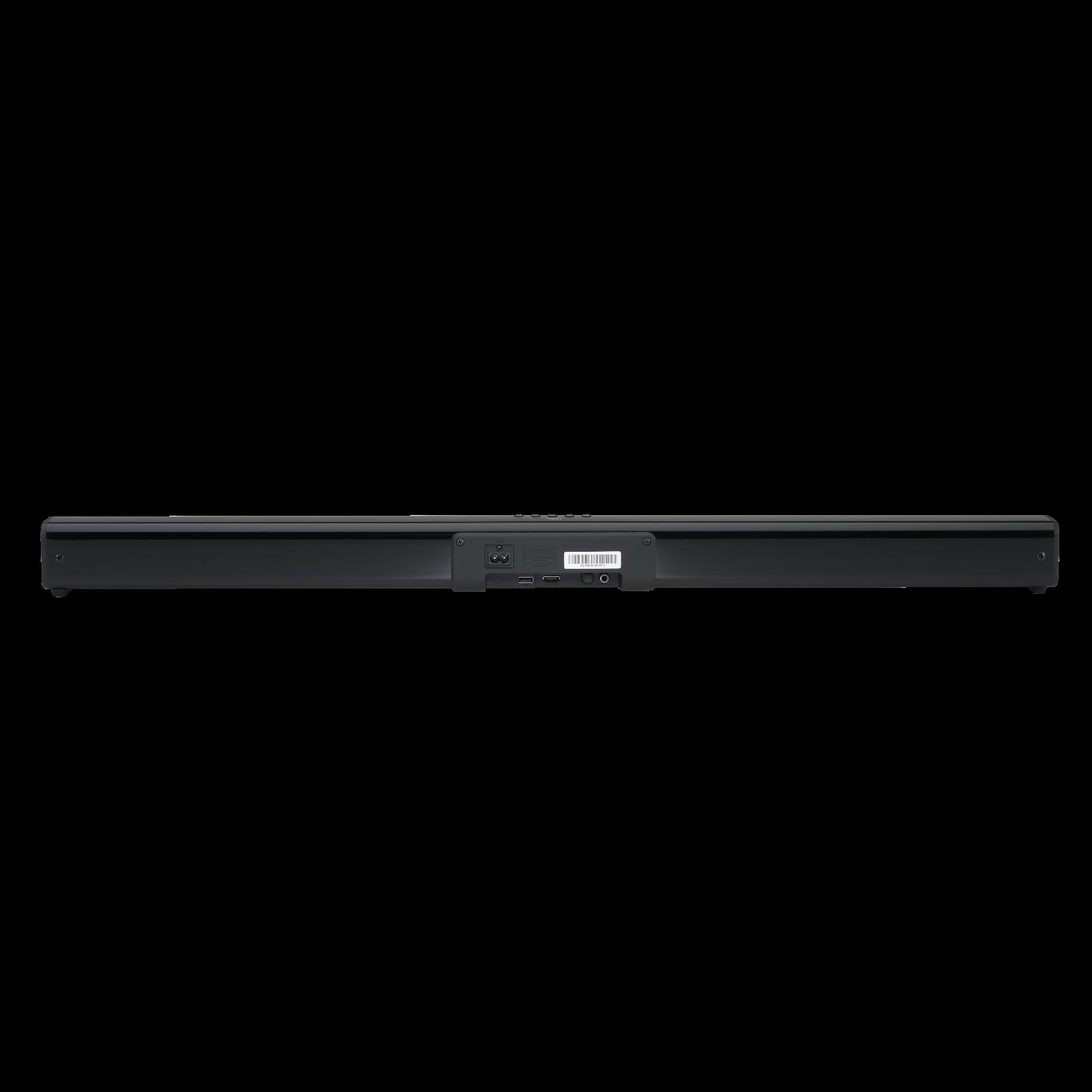 JBL Cinema SB160 - Black - 2.1 Channel soundbar with wireless subwoofer - Detailshot 3