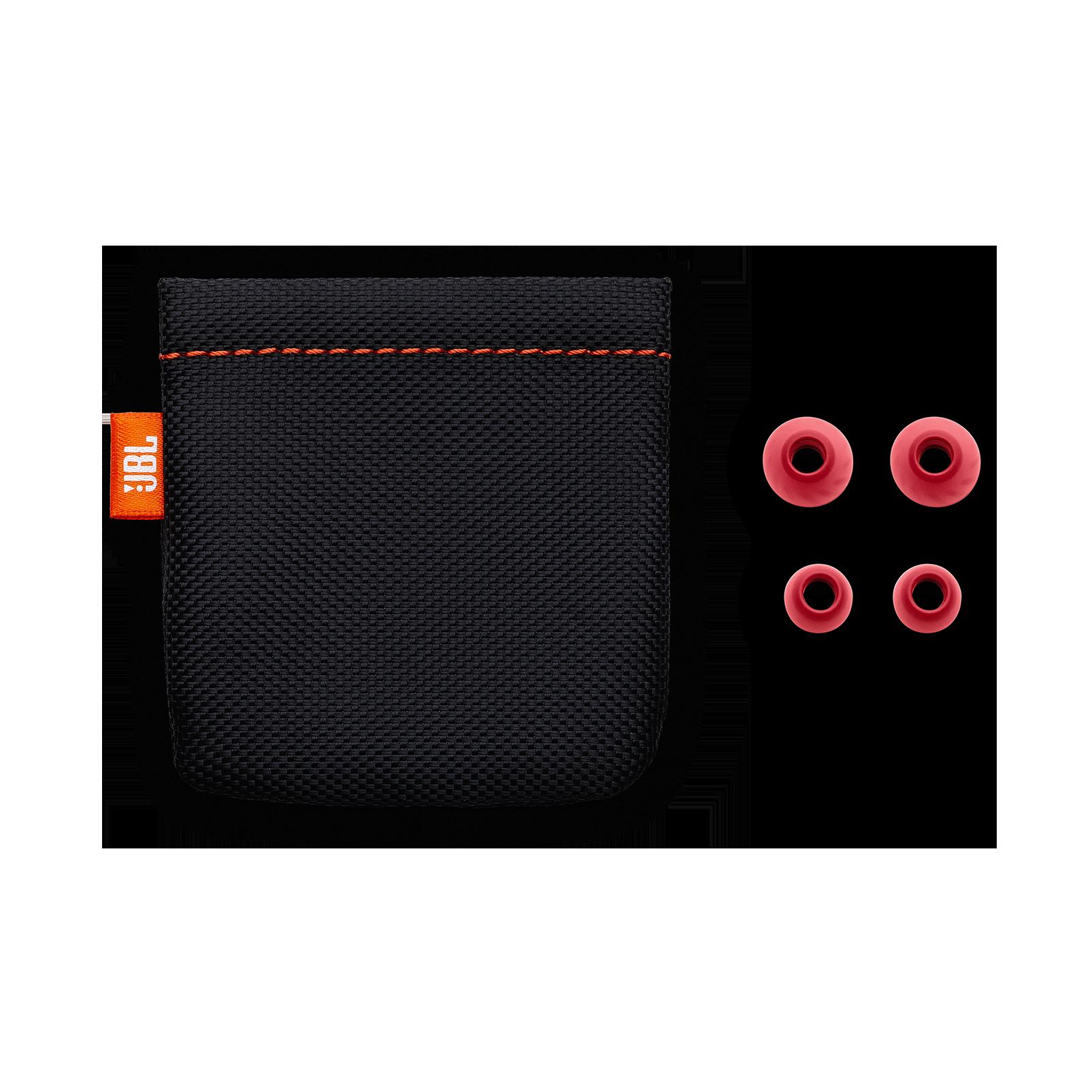JBL LIVE 100 - Red - In-ear headphones - Detailshot 3