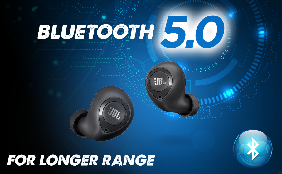 Bluetooth 5.0 Connectivity