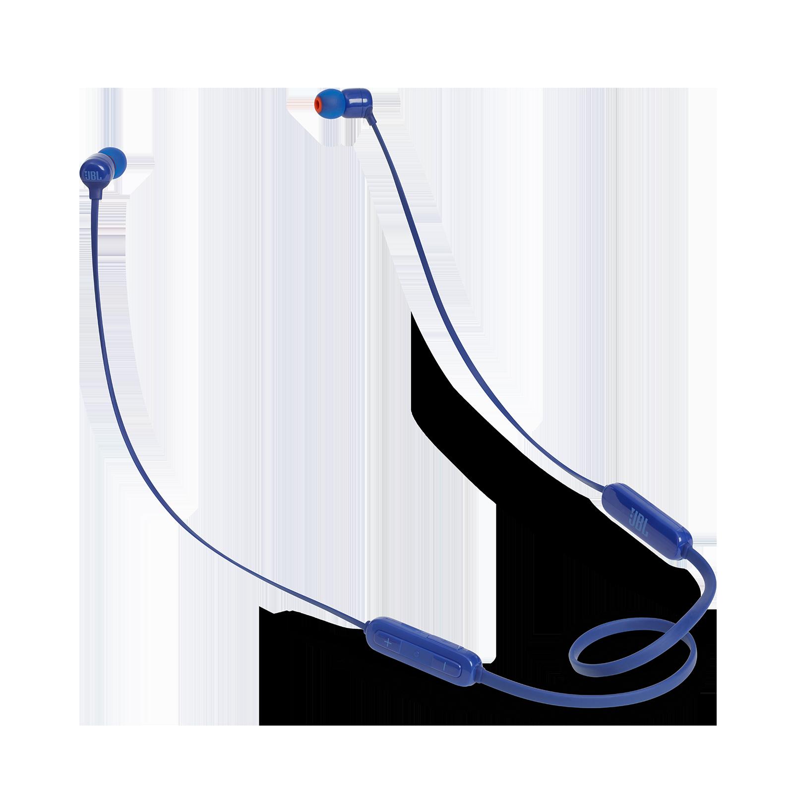 JBL TUNE 160BT - Blue - Wireless in-ear headphones - Hero