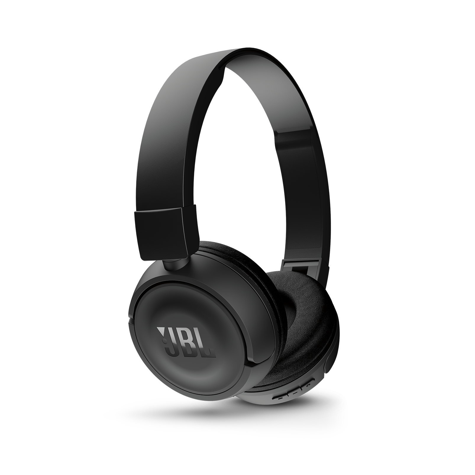 JBL T450BT - Black - Wireless on-ear headphones - Detailshot 2